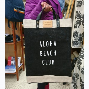 ALOHA BEACH CLUB x APOLIS トートバッグ