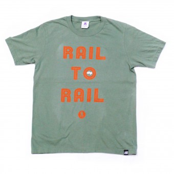 CHPxRootsPeople RAIL TO RAIL Tee